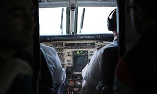 Chiste: Pilotos De Avión Invidente