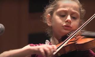 Una Niña De 11 Años Que Toca El Violín Como Nadie