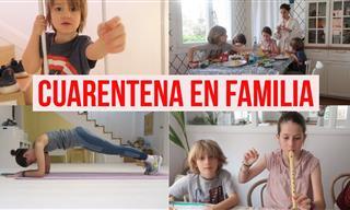 24 Horas En La Vida De Una Familia En Cuarentena