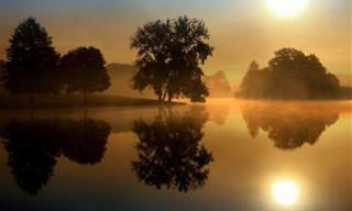 Imágenes Surreales Reflejadas En El Más Bello Espejo Natural