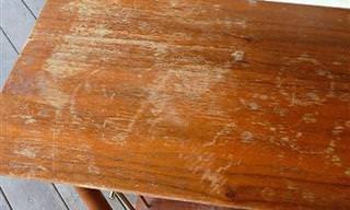 Cómo Arreglar Un Mueble De Madera Rasguñado En 2 Pasos