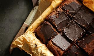 Receta: Saludables y Deliciosos Brownies Con Solo 2 Ingredientes