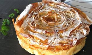 Prepara La Famosa Torta Flor Paso a Paso