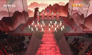 Una Impresionante y Colorida Coreografía De Kung Fu