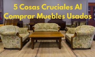 5 Reglas Imprescindibles Al Comprar Muebles De Segunda Mano