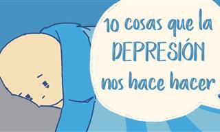 La Depresión Nos Hace Hacer Estas 10 Cosas