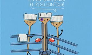 Diviértete con las Caricaturas del Colombiano Andrés J. Colmenares