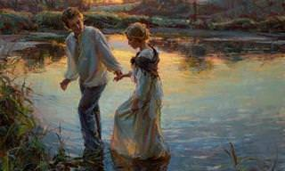 Hermosas y Lindas Pinturas Románticas