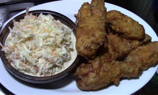 Prepara Un Crujiente Y Delicioso Pollo Al Estilo Americano