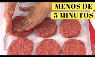 Cómo Preparar Hamburguesas De Carne En 5 Minutos