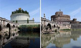Cómo Se Veían Estas 11 Ruinas Romanas Antiguas En El Pasado