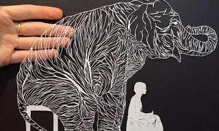 Delicadas Obras De Arte En Papel Calado…