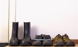 ¿Te Quitas Los Zapatos Al Entrar a Casa? ¡Bien Hecho!