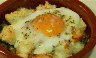 Receta Fácil: Huevos Estilo Napoleón Que Te Encantarán