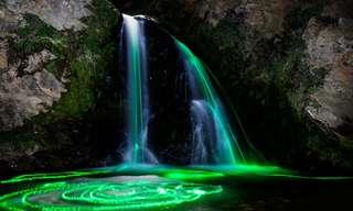 La Naturaleza Se Fusiona Con Los Colores...