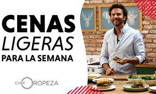 Recetas De Cenas  Ligeras Para La Semana Con El Chef Oropeza