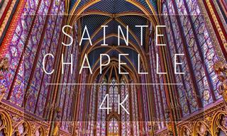 Te Invitamos a Dar Un Recorrido Virtual Por La Santa Capilla En París