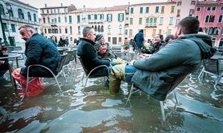 Venecia Inundada En 12 Fotografías