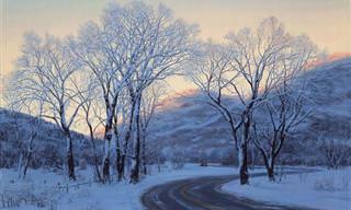 Hermosas Pinturas De Evgeny Lushpin