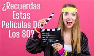 ¿Reconoces Estas Películas De Los 80?