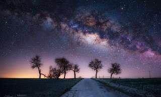 La Belleza De Los Cielos Estrellados…