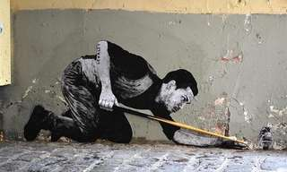 Creativo Arte En Las Calles Parisinas