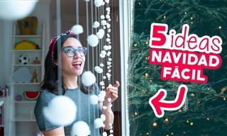 5 Ideas Fáciles Para Decorar En Navidad