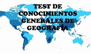 ¿Aprobarás Este Test De Geografía General?