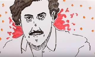 ¿Quieres Ver La Biografía Dibujada De Pablo Escobar?