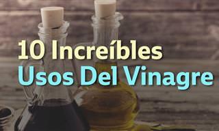10 Usos Del Vinagre