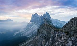 Disfruta Las Vistas: Fotografías De Las Montañas De Europa
