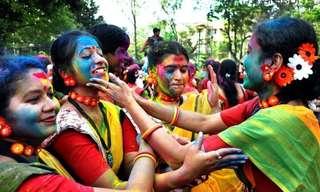 El Lado Más Colorido y Hermoso De La India