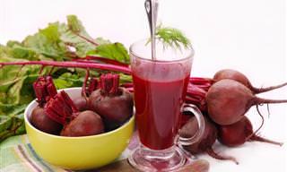 ¡Los Increíbles Beneficios Para La Salud De La Remolacha!