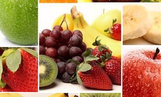 Interactivo: Elige Una Fruta y Haz Clic Para Ver La Receta