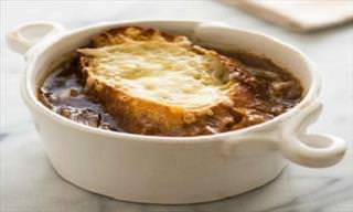 Disfruta De Una Deliciosa Sopa De Cebolla Francesa En Este Otoño