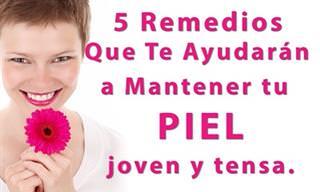 5 Remedios Naturales Para Mantener Tu Piel Joven y Bella