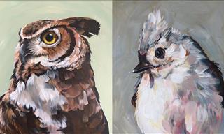 La Belleza De Las Aves Capturada En Hermosos Retratos