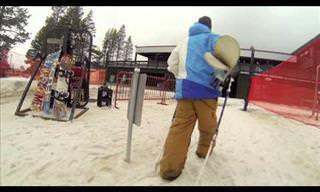 Este Esquiador Nos Dejó Asombrados Con Su Estilo Libre
