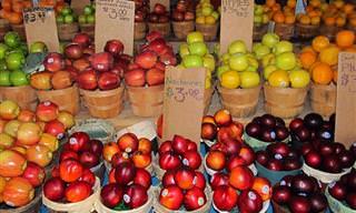 ¿Cuánto Sabes Sobre Frutas y Verduras?