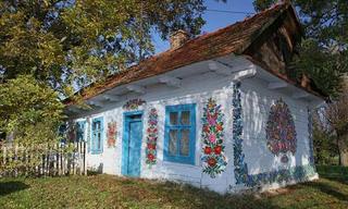 Zalipie: Un Lindo Lugar Con Casas Pintadas a Mano