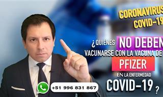 ¿Quiénes No Deberían Vacunarse Contra El Covid-19?