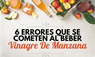 6 Errores Que Las Personas Cometen Al Beber Vinagre De Manzana