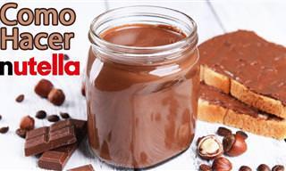 Cómo Preparar Crema De Chocolate y Avellanas Casera