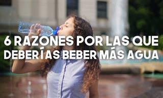 Te Damos 6 Razones Para Consumir Más Agua