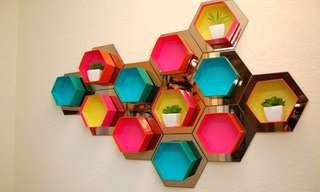 Ingeniosas Ideas Para Crear Estantes Caseros