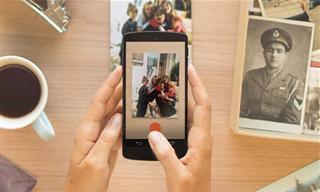 Como Preservar Tus Viejas Fotos Con La Ayuda De Tu Celular