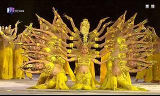 El Baile De Las 1000 Manos Es Simplemente Fascinante