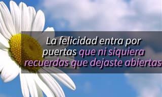 Tu Pensamiento Es Una Flor En El Jardín De La Positividad