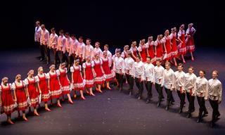 Impresionante Danza Popular Rusa