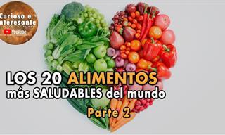 Los 20 Alimentos Más Saludables Del Mundo